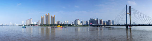 Jilin Songhua River Bund. Eastphoto, tukuchina, Jilin Songhua River Bund, Transportation, Bridge Stock Photos