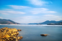 Jilin Songhua River scenery Royalty Free Stock Image
