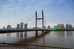 Jilin Songhua Riverside Gate Bridge. Eastphoto, tukuchina, Jilin Songhua Riverside Gate Bridge, Transportation, Bridge Stock Photography