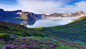Jilin Tianchi Stock Photography