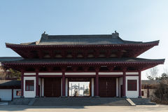 Jilin wanshou temple buildings Royalty Free Stock Photography