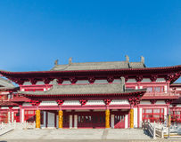 Jilin wanshou temple buildings. Located in changchun city of jilin province China bayhood tourism scenic spot of Beijing art museum, there have been 200 years of Stock Images