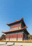 Jilin wanshou temple buildings. Located in changchun city of jilin province China bayhood tourism scenic spot of Beijing art museum, there have been 200 years of Royalty Free Stock Images