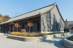 Jilin wanshou temple buildings Royalty Free Stock Images