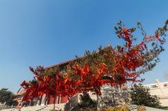 Jilin wanshou temple buildings Stock Photos