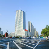 Jilin World Trade Plaza Building. Eastphoto, tukuchina, Jilin World Trade Plaza Building, City, scenery Royalty Free Stock Image
