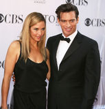 Jill Goodacre and Harry Connick Jr. Royalty Free Stock Photos