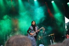 Jill Johnson - svensk countrymusiksångare och låtskrivare royaltyfri foto