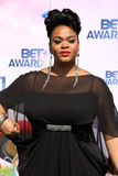Jill Scott royaltyfria foton