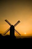 Jill-Windmühle in Sussex lizenzfreies stockfoto