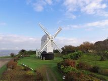 Jill windmill on Clayton Hill Sussex. Royalty Free Stock Photo