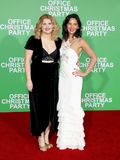 Jillian Bell and Olivia Munn. At the Los Angeles premiere of `Office Christmas Party` held at the Regency Village Theatre in Westwood, USA on December 7, 2016 Stock Images
