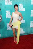 Jillian Rose Reed arriving at the 2012 MTV Movie Awards Royalty Free Stock Images