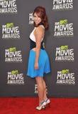 Jillian Rose Reed. LOS ANGELES, CA - APRIL 14, 2013: Jillian Rose Reed at the 2013 MTV Movie Awards at Sony Studios, Culver City Stock Image