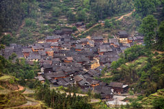 Jilun, hamlet near Zhaoxing, Dong minority village, Guizhou prov Royalty Free Stock Images