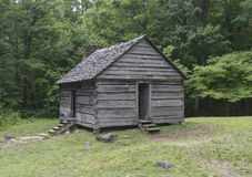 Jim Bales Log Cabin, Great Smoky Mountains National Park Stock Photography