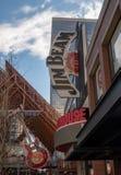 Jim Beam Distillery. In downtown Louisville, Kentucky royalty free stock photo