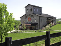 Jim Beam Stillhouse. And distillery at Clermont, Kentucky, USA. Jim Beam is a brand of Kentucky straight bourbon whiskey Stock Photography
