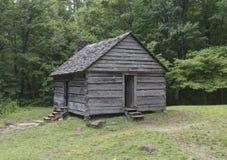 Jim Beluje beli kabinę, Great Smoky Mountains park narodowy Fotografia Stock