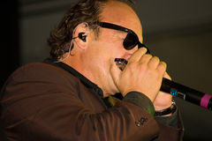 Jim Belushi. Actor/musician Jim Belushi and the Sacred Heart Band performed at the Esmeralda Resort in Indian Wells, CA, for the annual Frank Sinatra Celebrity Royalty Free Stock Images