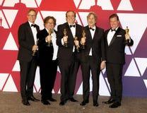 Jim Burke, Charles B Wessler, Nick Vallelonga, Peter Farrelly, Brian Currie lizenzfreie stockfotografie