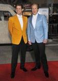 Jim Carrey et Jeff Daniels Photographie stock
