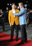 Jim Carrey & Jeff Daniels royaltyfri fotografi