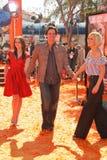 Jim Carrey, Jenny McCarthy lizenzfreies stockbild