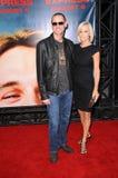 Jim Carrey Jenny McCarthy royaltyfri bild