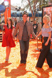 Jim Carrey,Jenny McCarthy royalty free stock image