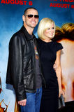 Jim Carrey och Jenny McCarthy fotografering för bildbyråer