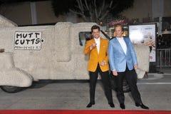 Jim Carrey y Jeff Daniels Foto de archivo