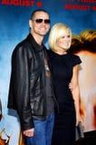 Jim Carrey y Jenny McCarthy imagen de archivo