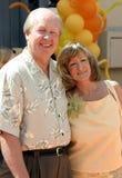 Jim Davis and Jill Davis Stock Photo