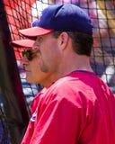Jim Edmonds och Tony La Russa, St Louis Cardinals Royaltyfri Fotografi