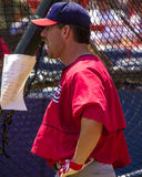 Jim Edmonds, St Louis Cardinals Imagens de Stock Royalty Free