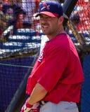 Jim Edmonds St Louis Cardinals Fotografering för Bildbyråer