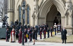 Jim Flaherty State Funeral in Toronto, Canada Stock Photography