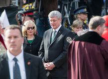 Jim Flaherty State Funeral in Toronto, Canada Royalty Free Stock Photography