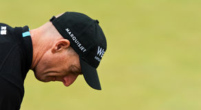 Jim Furyk  British Open Sandwich 2011 Stock Image