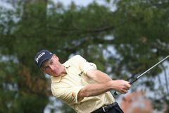 Jim furyk, Tour Championship, Atlanta, 2006 Royalty Free Stock Image
