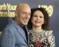 Jim Harder et Susie Essman Photo stock