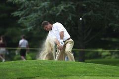 Jim Holt. Famed Professional golfer Jim Holt at the 2002 U.S. Open. Image taken from color slide Stock Image