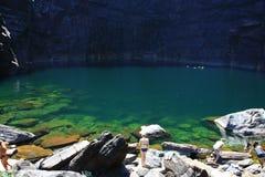 Jim Jim Falls, εθνικό πάρκο Kakadu, Αυστραλία Στοκ εικόνα με δικαίωμα ελεύθερης χρήσης