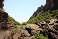 Jim Jim Falls al parco nazionale di Kakadu, Territorio del Nord, Australia Fotografia Stock