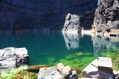 Jim Jim Falls au parc national de Kakadu, territoire du nord, Australie photo libre de droits