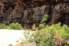 Jim Jim Falls, het Nationale Park van Kakadu, Australië Stock Foto's