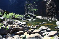 Jim Jim Falls, het Nationale Park van Kakadu, Australië Stock Fotografie