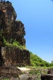 Jim Jim Falls, het Nationale Park van Kakadu, Australië Royalty-vrije Stock Afbeeldingen