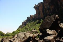 Jim Jim Falls, het Nationale Park van Kakadu, Australië Royalty-vrije Stock Foto